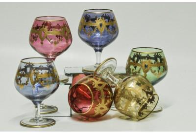 Bicchiere Amaro Impero Oro Arlecchino