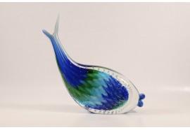 Pesce Piumato Azzurro e Verde